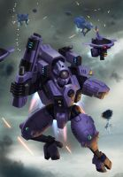 TAU Ghostkeel by thevampiredio