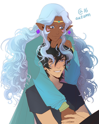 Allura and Keith by Autumn-Sacura