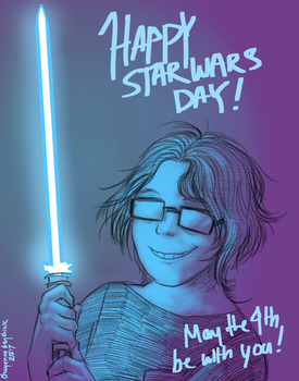 MAY THE 4TH! by PurpleRAGE9205