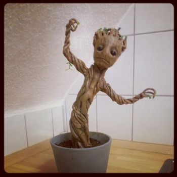 Baby Groot - He's finished. he's done. by IronMask90