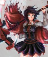 Ruby Rose by fishisea