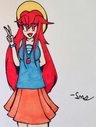 Laras Summer clothing (traditional) by SonicMiner101