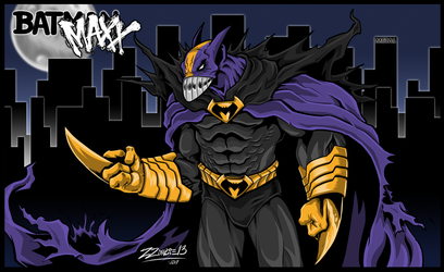 Bat Maxx Metal by ZZoMBiEXIII