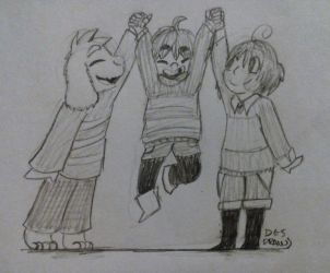 [AT] tiny children by DesDraws