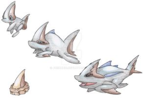 Mega-Shark Pokemon