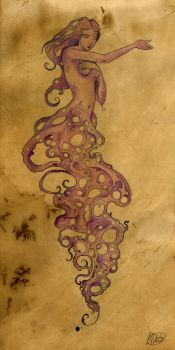 Untitled Tea Painting by shadowgirl