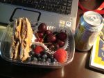 Meat and Berry Bento by AtticusBlackwolf