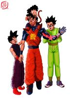 Gohan and the Gohans by Tuuber25