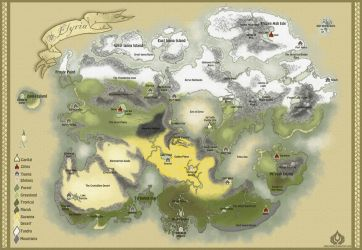 Info: Map of Elyria by ErwilMinsa