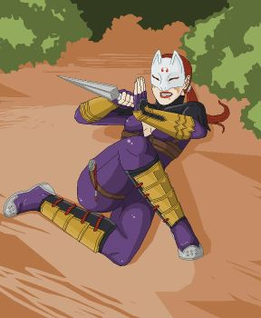 Down But Not Out - Kunimitsu by mist94