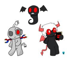 Tboi Sacred Rights characters by xRibbon-Candyx