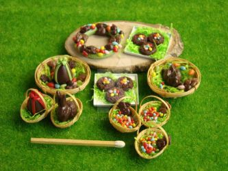 Easter Miniatures by PetitPlat