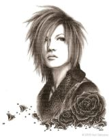 Uruha 'Gem Rose' HANDDRAWN by Mari-chan05