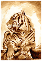 Tiger by OneWithMyself