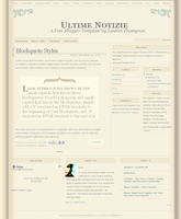 Ultime Notizie Template by nymphont
