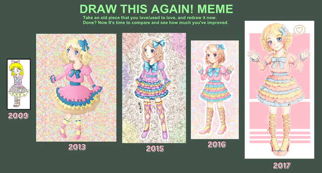 Draw This Again MEME 2017 by Dechii008