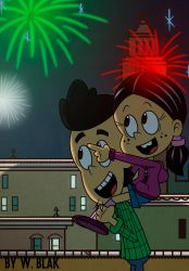 More fireworks! by BluFlameStudio