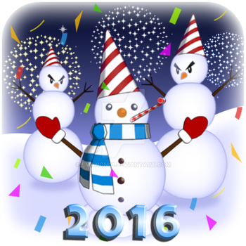Happy New Year 2016 ! by emanon01