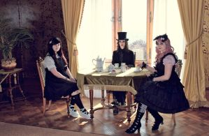 Mad Hatter Tea Party by Revelio