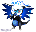 Poke Orchestra: Mega Charizard X with Triangle by Hikarisoul2