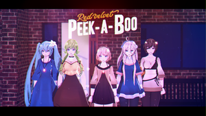 [MMD] Red Velvet - Peek A Boo (original motion DL) by DollyMolly323