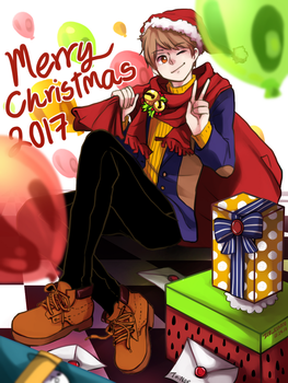 Merry Christmas 2017 !! by IceRin000