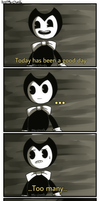 Nightmare Run | Bendy and The Ink Machine by Miu-Chan16