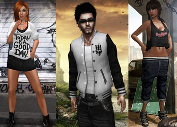 3D Models : Urban Clothing Collection 2 by Mokazar