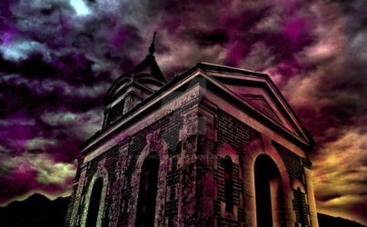 darkness descending in color by Gothicmama