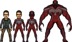 New Crimson Spider design by SpiderTrekfan616