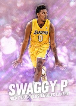 Nick Young by jlgraffix