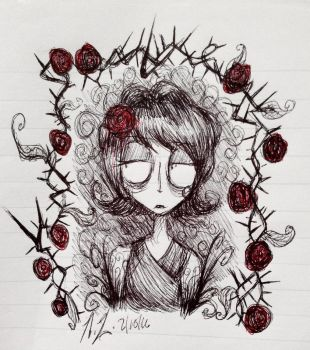 Don't Starve: There Are No Roses w/out Its Thorns by Loza-LaSphinx