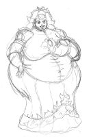 Yet another fat Peach by dwarfpriest