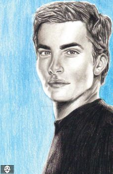Chris Pine Portrait