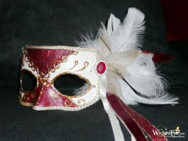 Christmas Mask by MelissaFindley