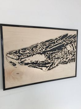 Wooden Smaug by PhoenixHBA