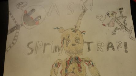 Ask Springtrap by kkrazykkitty