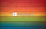 windows 8 wallpaper color by TravisLutz