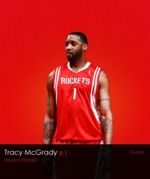 NBA Series: Tracy McGrady by LeBron6