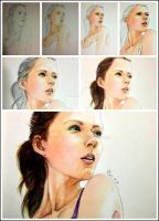 the process of my artwork by young920