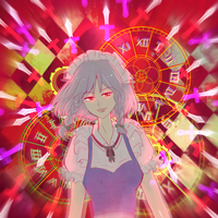 Welcome to my world- Sakuya Izayoi by Monstrocker