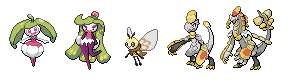 Pixel Art New Pokemon Sun and Moon