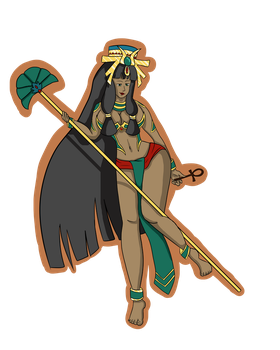 Egyptian Goddess Isis (AT) by CripticShade