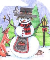 Snowman by Skychaser