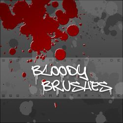 Bloody Brushes - 74x by basstar