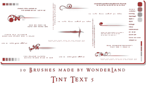 Tiny Text 5 + Fading Boxes by Foxxie-Chan