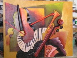 sculpted painting 1 by Theatricalarts