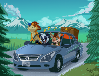 Viernes Furry: Puebla RoadTrip by pandapaco