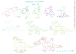 Dragon Tutorial 1/??? by Natsuakai