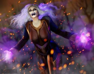 The Banner: Banshee Irwina by Belvane